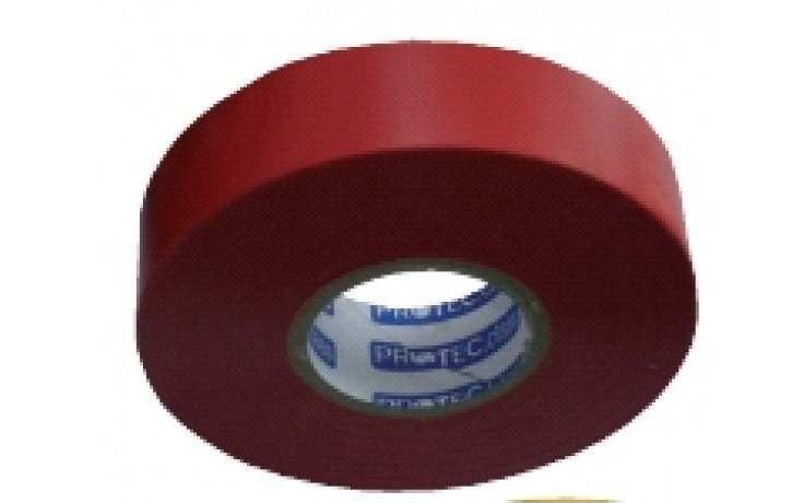 PVC Isolierband Länge 25m Breite 19mm rot